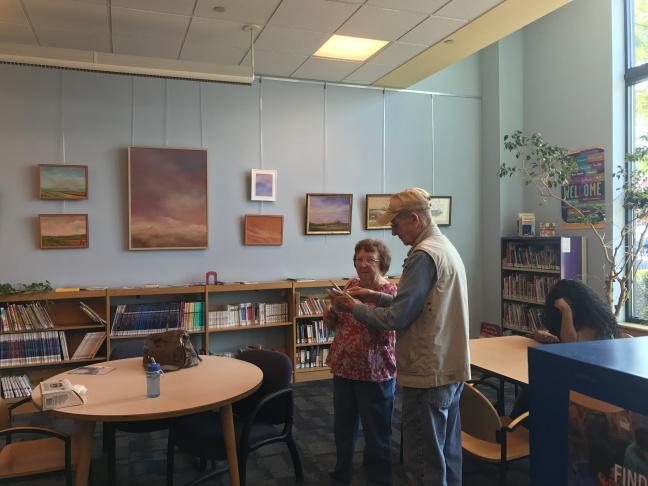J Bouldin at Library