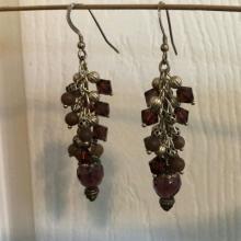 Cluster Earrings