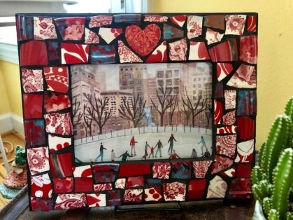 mosaic frame 2